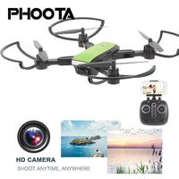 Phoota Drone 0.3MP/2MP HD Camera 360 Degree Rolling Selfie Speed Adjustable One Key Take Off Stable Package Quadcopter