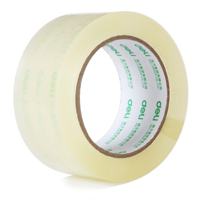 1 stücke 60mm x 100y/60mm x 91,4 mt Verpackung Verkauf Qualität Transparent Klebeband Pack Werkzeuge büro Schule Liefert