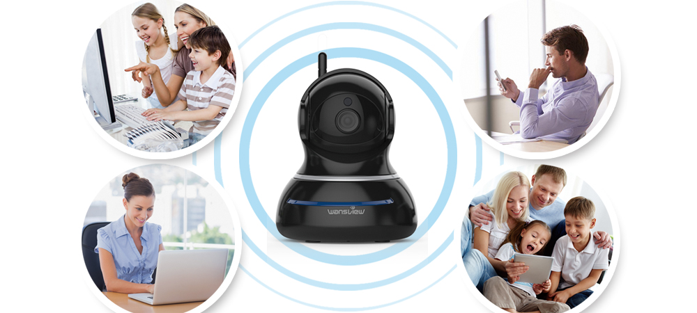 hd ip câmera de vigilância segurança wi