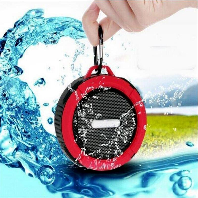 Waterproof Stereo Wireless Bluetooth Speaker Shower Speaker with Sucker Support Hands-free Calls For Laptop Smartphone MP3