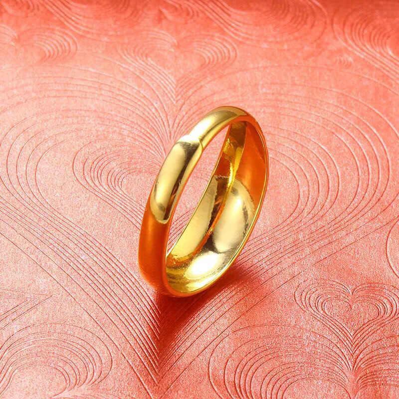 MxGxFam Cổ Điển Thêu Nhẫn Cho Phụ Nữ Mở Điều Chỉnh 24 k Màu Vàng Tinh Khiết Quốc Gia Trung Quốc Phong Cách trang sức