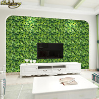 beibehang 45*1000cm Self adhesive Wallpaper for living room bedroom Stick Removable For Kitchen Leaf brick wall paper home decor
