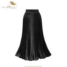 נשים SP0096 אקורדיון חצאית