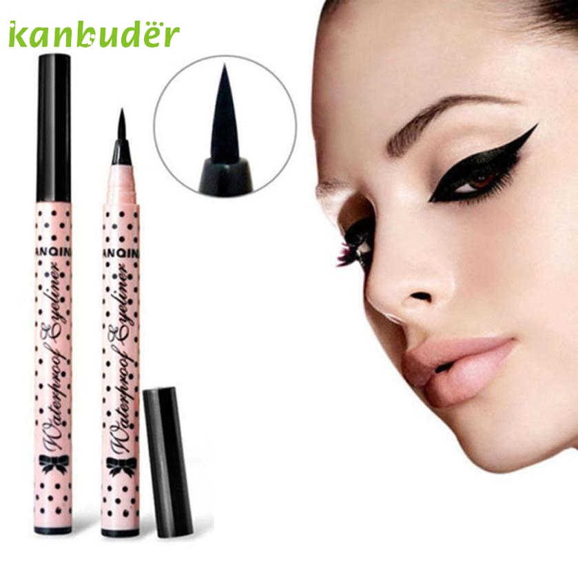 KANBUDER Feathering Women Eyeliner Pen Makeup Cosmetic Black Liquid font b Eye b font Liner Pencil