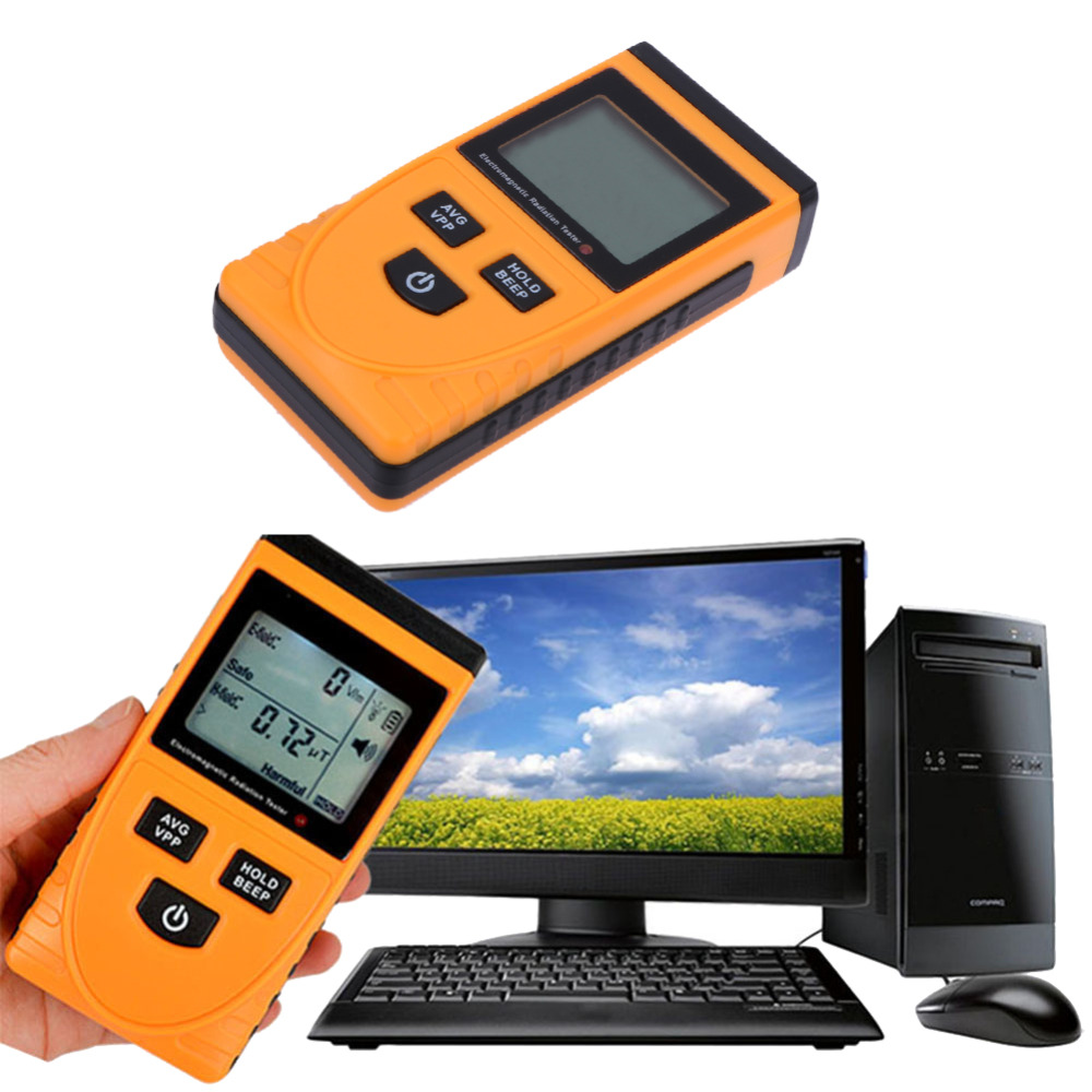 Portable Household Electromagnetic Radiation Tester Detector GM3120 Radiation Monitoring Measuring Tool