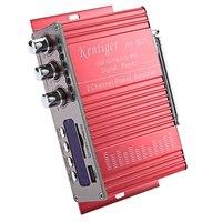 Kentiger HY-502S 2CH Bluetooth Amplifier Hi-Fi Super Bass Output Power Stereo Amplifier Audio Amplificador Support USB/SD Card