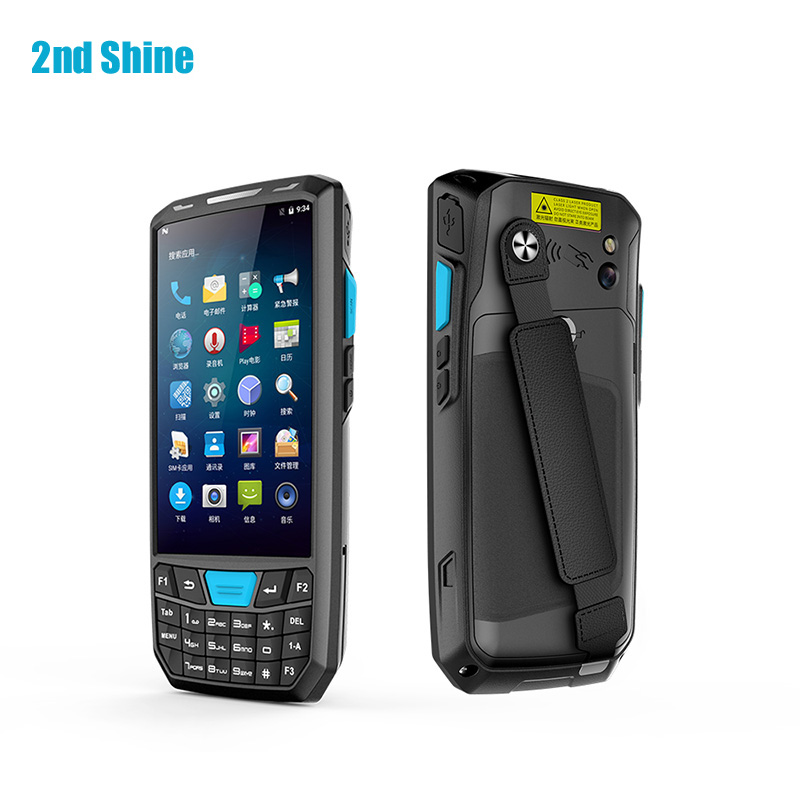 IOT Android OS Data Collection Terminal Barcode Scanner Rugged Phone Handheld Terminal 4.5 inch for Retail Quad-Core 1.3G