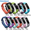 Luxury Silicone Watchband Strap Buckle For F-itbit Alta Replacement Color