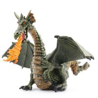 Original Starz Jurassic World Animal Figurine Model Toy Medieval Fancy Fire Dragon Dinosaur Figure Doll PVC