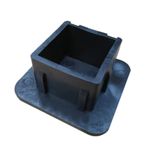 2 Inch Trailer Hitch Tube Plug Cap Receiver Cover Rubber  Square Dust Protector