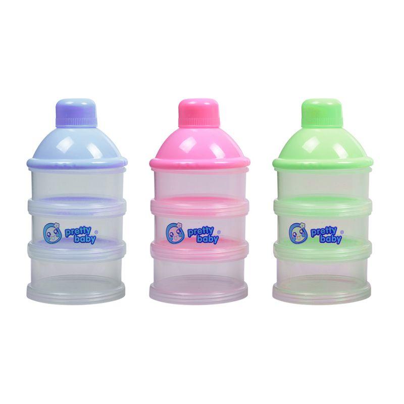 Baby Food Storage Box Tragbare Kleinigkeiten Box Milch Pulver Organizer Container Empfangen Box Geschenk Fall 3 Farbe Flaschenzuführung Fütterung