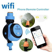 Automatic Intelligent Electronic Water Timer Smart Phone Remote Garden Irrigation Controller Watering System Solenoid Valve Hose