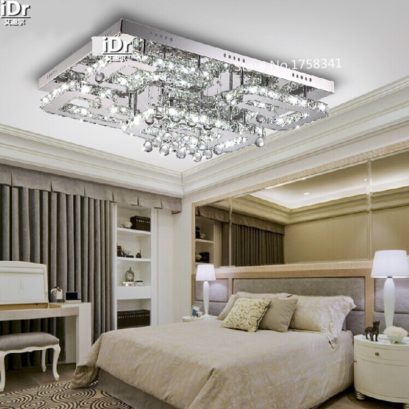 Acquista all'ingrosso online lampada da soffitto di cristallo da ...