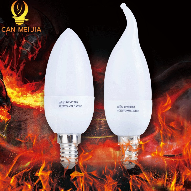 E14 Led Candle Light Bulb 220V Energy Saving Bulb Lamp E14 LED Bombilla Decorativas Ampoule Led Lamps 3W 5W Led Lights for Home good power e14 led candle bulb light 220v 3w led energy saving lamp velas bombilla decor home lighting led bulbs for chandelier