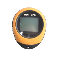 Mini GPS Navigation Device Portable Handheld Keychain Tracker Rechargeable Pathfinding Locator Compass for Outdoor Travel