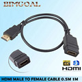 High speed 3FT 1M HDMI Male to Female Cable Connector Adapter Port 1080P For HDTV Extension hdmi cable