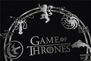 Game of Thrones Men Winter Thicken Hoodie Deer Wolf Dragon Lion Print Animal Casual Fleece Cool Thermal Sweatshirt