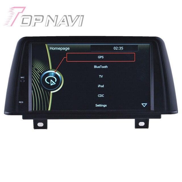 Wince Car Radio Stereo Para BMW 1 F20 (2011-2014) para BMW2 F22/F23 2013-2014 de la Electrónica Del Coche de Navegación GPS Del Coche Reproductor de DVD de Vídeo