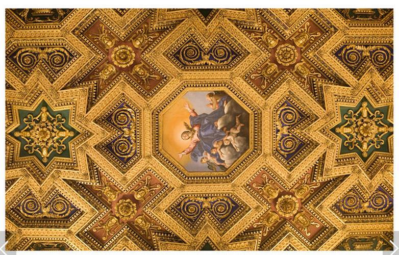 3d обои на заказ 3D потолка обои фрески HD Европейский зенит подвесного потолка настенной 3D гостиная фото обои