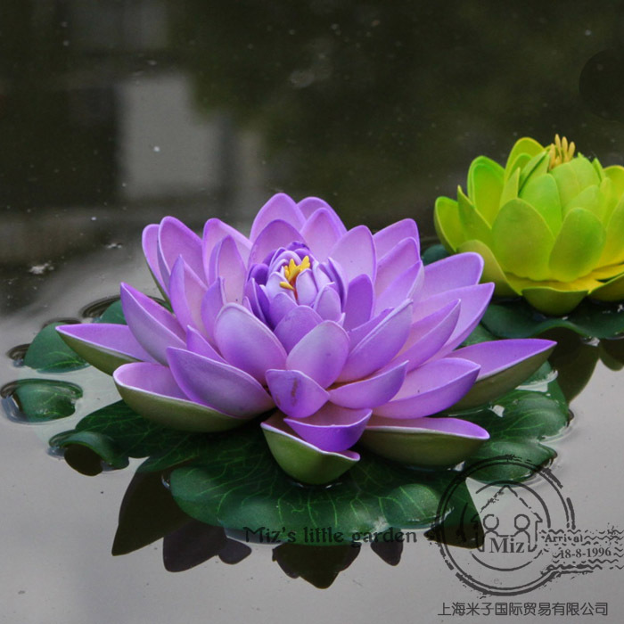 Eva material imitation jewelry simulation flower lotus water lily eva material imitation jewelry simulation flower lotus water lily lotus flower artificial flower decoration large multicolor int in artificial dried mightylinksfo