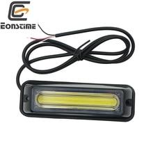 Eonstime 1 шт 12 V-24 V COB светодиодный трафик советника в чрезвычайных ситуациях со стробоскопической вспышкой светильник бар Предупреждение светильник красные, синие, желтый, белый