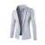 Dos homens novos quentes 2016 tendência da moda coreana de Magro ocasional cor sólida simples Com Decote Em V longo-mangas compridas de malha cardigan jaqueta