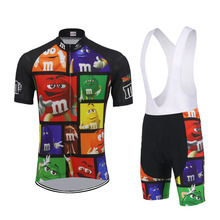 2019 cycling jersey Men short sleeve jersey set bike wear clothing Summer breathable bib shorts gel pad go pro camisa ciclismo