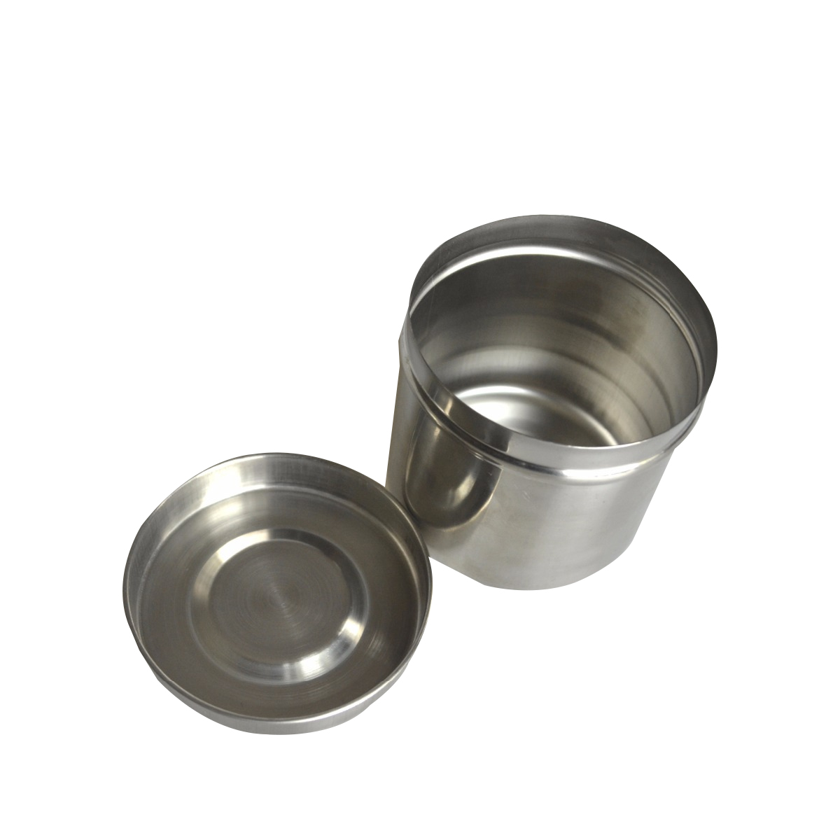 1Pc Medical Cotton Alcohol Tank Cylinder Jar Durable Sterilizer Stainless Steel Eyebrow Tools For Surgical Use