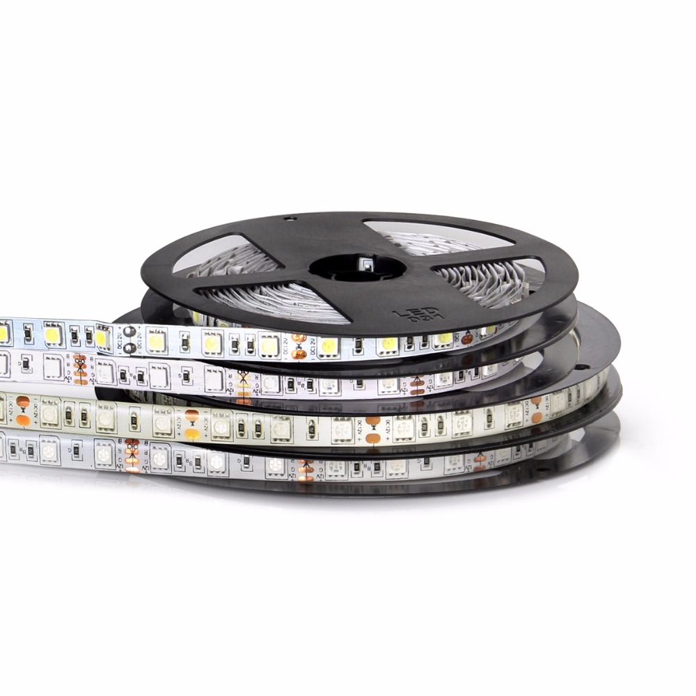 5M LED Strip Light 2835 5050 RGB Led Strip Ribbon