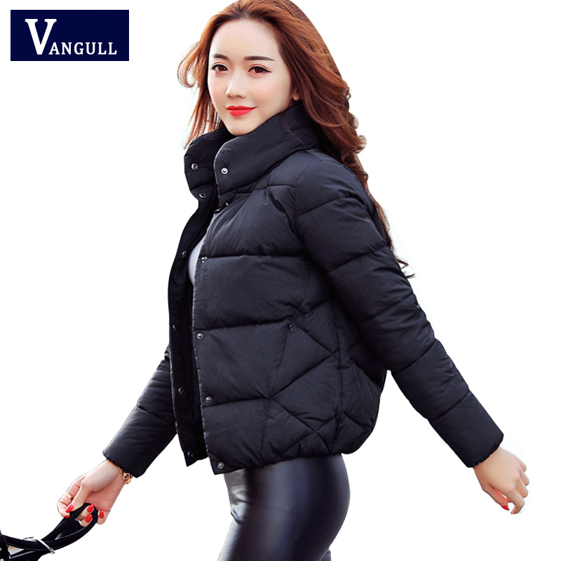 Winter jacket Women 2017 New Fashion Coat Jackets High-Quality Coats Casual Warm Parka clothing for women Thick Cotton Padded swenearo 2017 new women thick warm coat hooded high quality cotton padded winter jacket women ladies coats winter collection