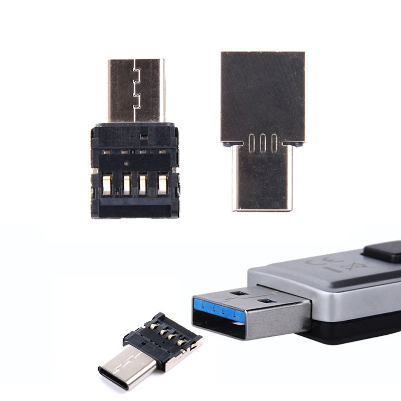 Type C To USB OTG Connector Adapter For USB Flash Drive S8 Note8 Android Phone #C77# Dropship
