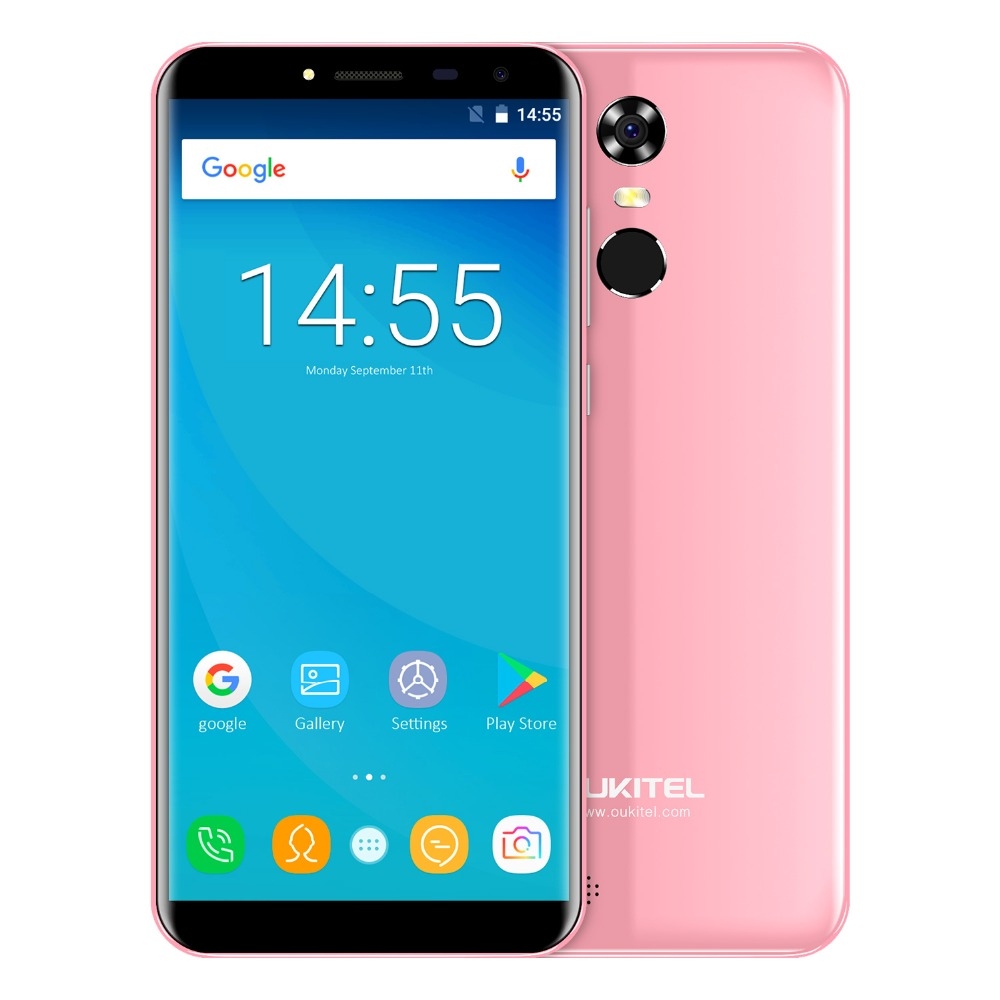 "Oukitel C8 5.5"" 18:9 Infinity Display Android 7.0 Mtk6580a Quad Core Smartphone 2g Ram 16g Rom 3000mah Fingerprint Mobile Phone #2"