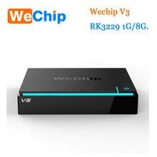 D'origine WeChip V3 KDPlayer 16.1 Android 5.1 TV BOX RK3229 Quad Core fréquence: 1.5G 1 GB/8 GB 2.4G Wifi Media Player pk V88
