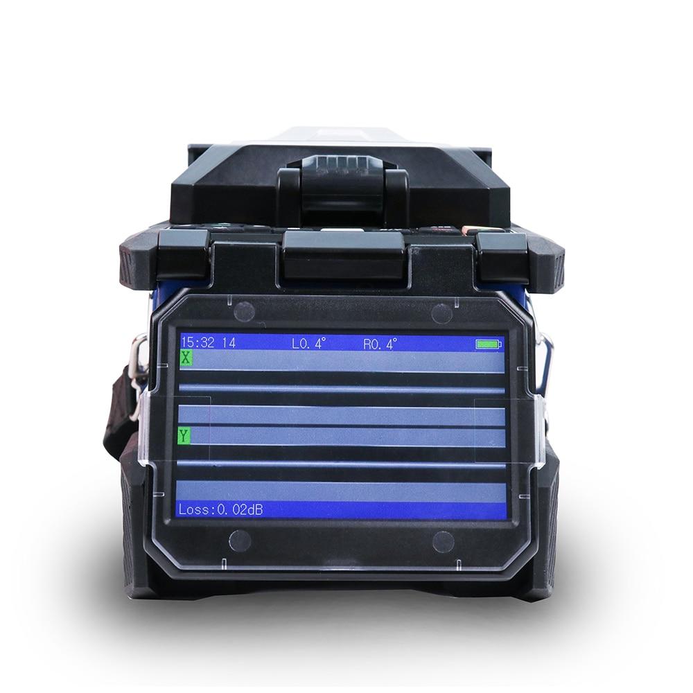 ARC Optical Fiber Komshine FX37 Fusion Splicer Welding Machine Core to Core Align Multi Languages with