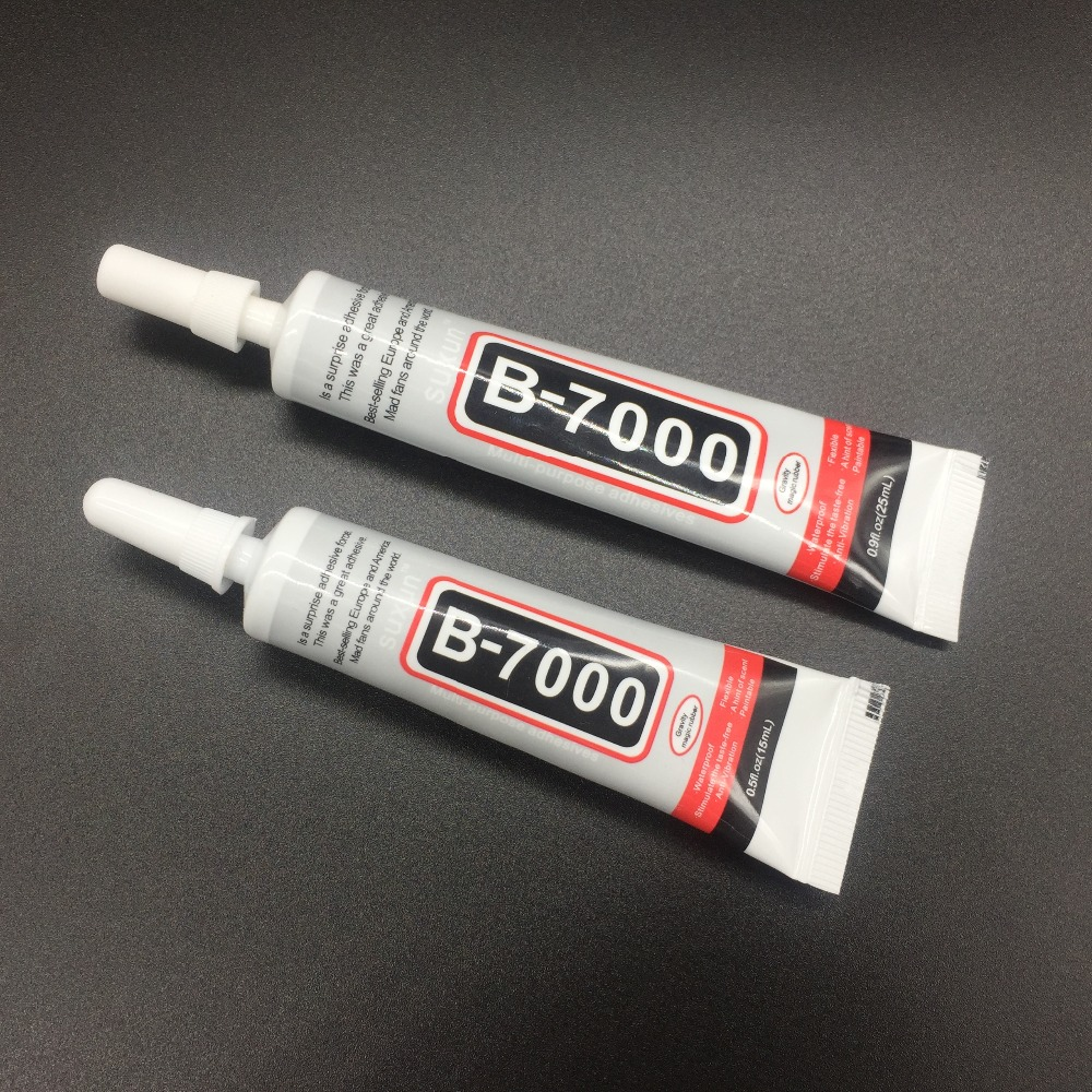 Best B7000 Glue 50ml Multi Purpose B-7000 Adhesive Jewelery Epoxy Resin Diy Jewelry Crafts Glass Touch Screen Cell Phone Repair zhanlida t 7000 50ml epoxy resin black glue repair crack lampshade move the door shoes multi purpose t7000 glue gun page 6
