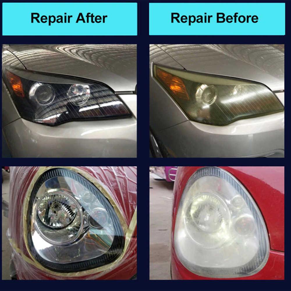 Hgkj Jendela Mobil Auto Bersih Pembersihan Kaca Lampu Perbaikan Renovasi Alat Truk Motor Aksesoris Mobil Alat TSLM1