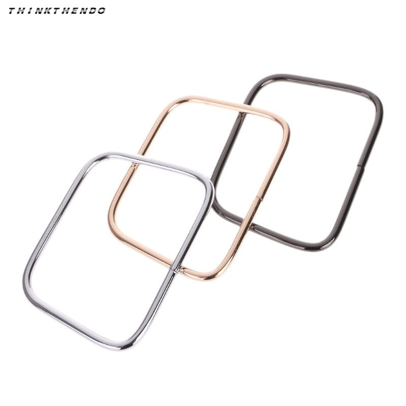 THINKTHENDO New 1 Pc Metal Bag Handle Handbag Strap Purse Hardware Replacement Handmade Accessories High Quality