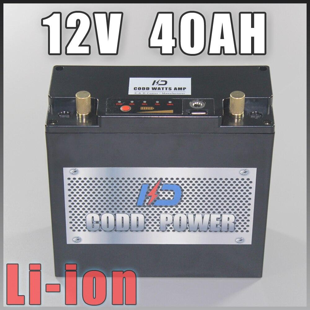 Aeg 12 v Lithium ion batterie pour batterie externe de secours panneau solaire 12 v batterie 12 v pack 12.6 V