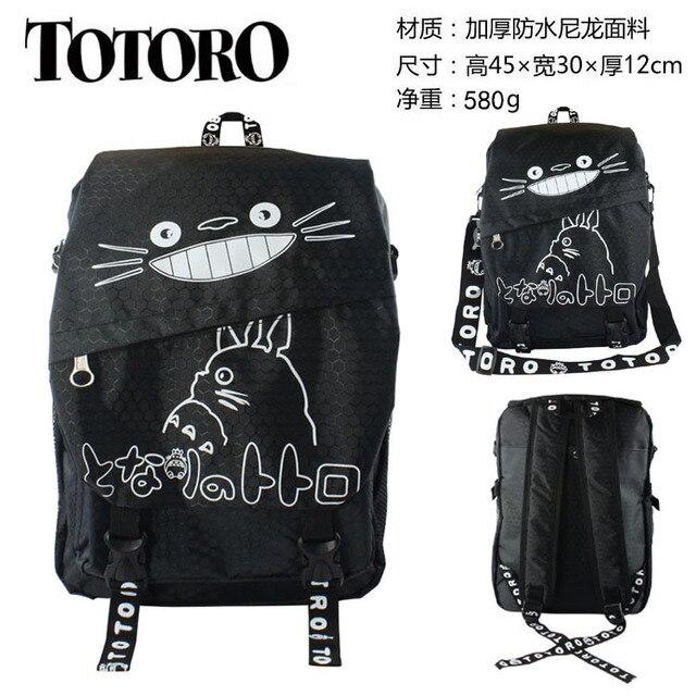 Тоторо рюкзак оксфорд аниме купить рюкзак 40