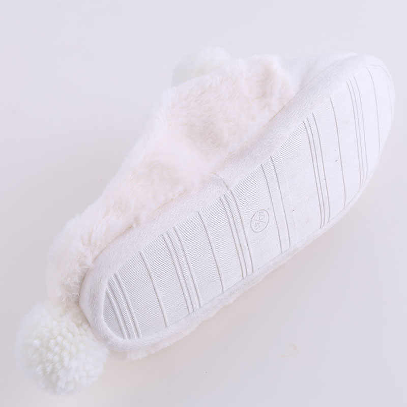a1321d308 ... Women Winter Home Slippers Cartoon Sheep Shoes Non-slip Soft Winter  Warm House Slippers Indoor