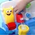 Colorido traje de Baño de Arena de Playa Nadando Salpicaduras de Agua Automática Jugar Juguete Precioso Grifo Formas Bebés Niño Brillante Grifo Apuntalada