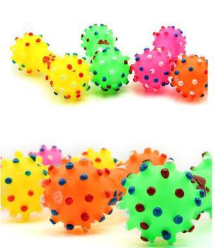 Colorful Dots Dog Bone  1