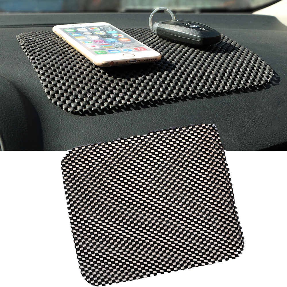 19cm*21cm Car Anti Slip Mat For Mobile Phone Non Slip Car Dashboard Holder For MP3 MP4 PDA Sticky Pad Black Auto Accessories wireless car charger for dashboard holder mount non slip silicone universal mat stand devices anti slip mobile phone holder