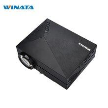 GM60 LED Proyector 854×480 Píxeles Ayuda 1080 P HD Mini Reproductor Multimedia de Cine En Casa LCD Proyector gm60 cine
