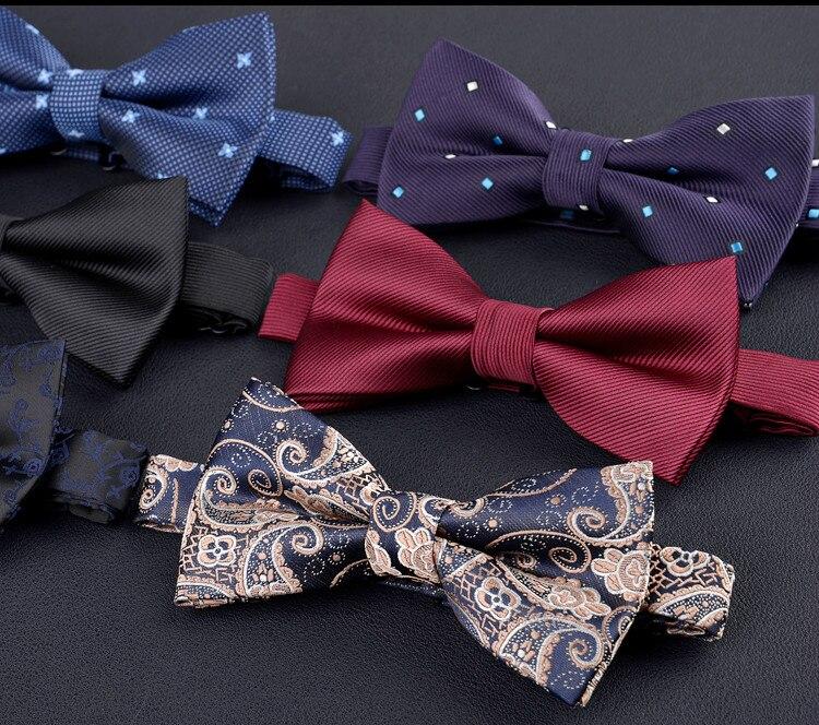 Analytisch Fashion Korean Elegante Gentleman Fliege Blume Hochzeit Retro Fliegen Schmetterling Gravata Wunderschöne Krawatte Für Mann Geschenke