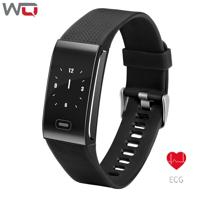 WQ CK18 ECG Smart Bracelet ECG+PPG Fitness Tracker Smart