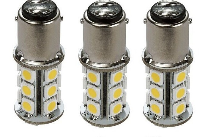 10 Pcs RV & Auto LED Bulb 1076 Base Tower 200 LUM 8-30v 12 Or 24v Free Shipping