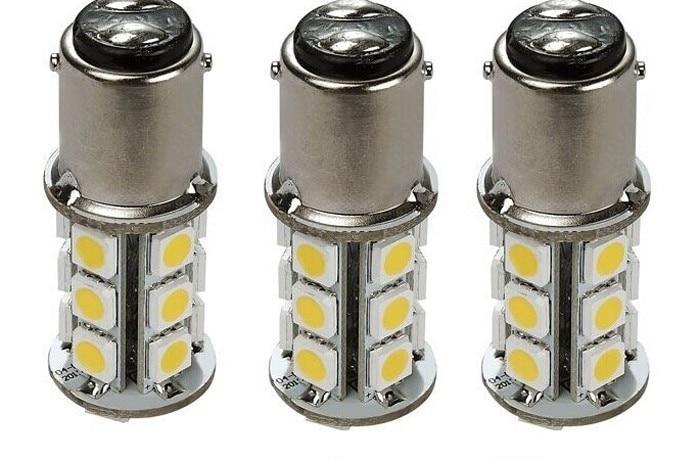 10 Pcs RV & Auto LED Bulb 1076 Base Tower 200 LUM 8-30v 12 Or 24v Free Shipping