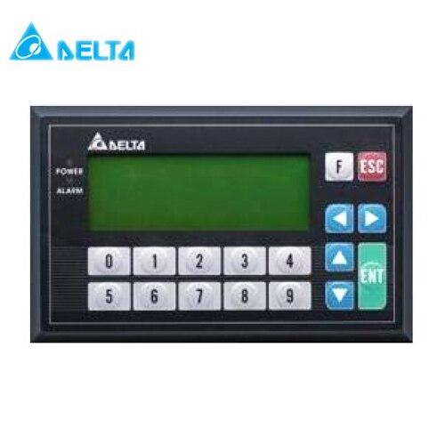 TP04G-BL-CU panneau de texte Delta HMI STN LCD couleur unique 4 lignes modèle d'affichage USB téléchargement seulement pour Delta PLC nouveau dans la boîte