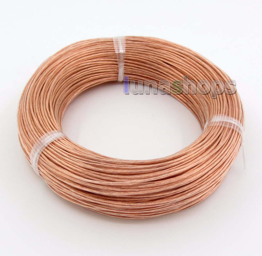 10m Acrolink 28 cores Pure 7N OCC Signal Teflon Wire Cable 0 5mm2 0 15mm 28
